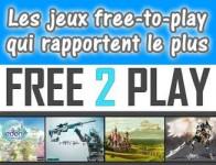 Les jeux free-to-play rapportent de l\'argent !