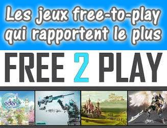 Les jeux free-to-play rapportent de l'argent !