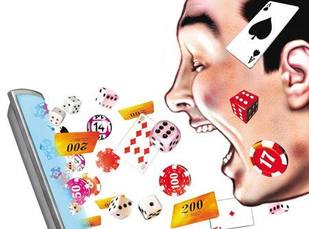 Baisse des dépenses dans les jeux d'argent en France.