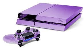 Ps4 de Sony, sa nouvelle console de jeux.