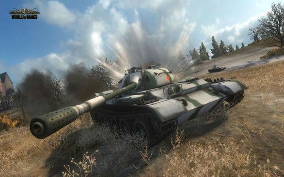 World of Tanks, le jeu de simulation de chars en ligne.