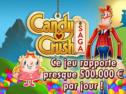 """Candy Crush, """"le"""" jeu qui cartonne sur Facebook !"""