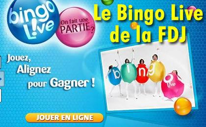 Le Bingo Live de la FDJ, tout savoir !