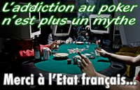Les joueurs de poker, plus réceptifs à l\'addiction.