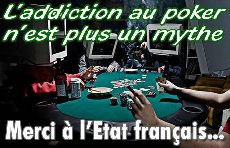 Les joueurs de poker, plus réceptifs à l'addiction.