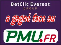 Betclic Everest Group a gagné face au PMU.
