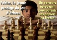 Fahim Mohammad, le jeune prodige des échecs.