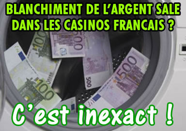 Blanchiment d argent casino poker guts to open