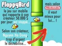 Flappy Bird, le jeu sur mobile est stoppé par son créateur.