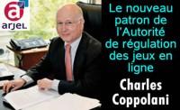 Arjel: le nouveau patron, Charles Coppolani.