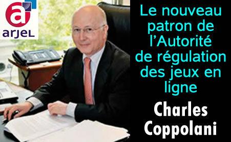Arjel : le nouveau patron, Charles Coppolani.