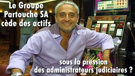 Le Groupe Partouche SA cède des actifs.