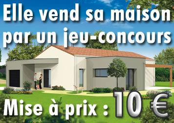 Jeu-concours : une maison pour 10 €uros !