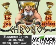 Chronos conquest, le jeu des sabliers, est sur My Major Company.