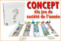 «Concept», ce jeu de société a été élu jeu de l\'année 2014.