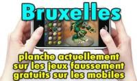 Bruxelles planche sur les jeux faussement gratuits sur mobiles.