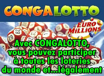 Congalotto, le paradis des loteries en ligne.