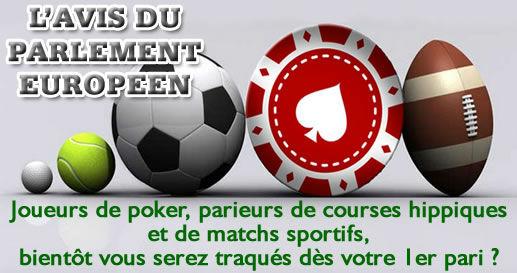 Joueurs de poker et parieurs, bientôt serez-vous traqués dès votre premier pari ?