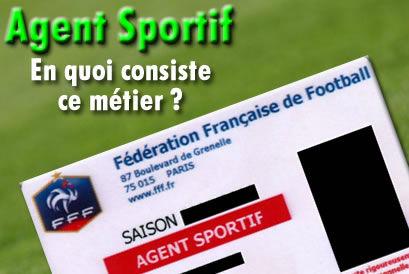 Qu'est-ce qu'un agent sportif, de joueurs ?