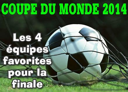 Coupe du monde 2014 nos quipes de football favorites - Jeu de coupe du monde 2014 ...