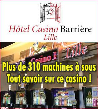 Casino Barrière de Lille : un paquebot de divertissements.