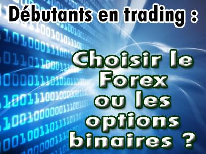Forex et option binaire