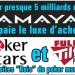 PokerStars et Full Tilt Poker en vente pour 5 milliards à Amaya ?