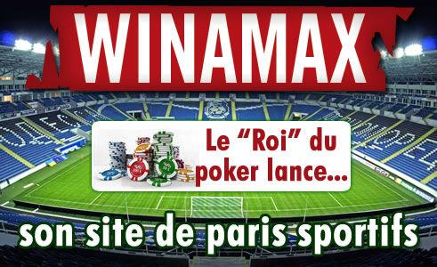 Winamax a lancé son site de paris sportifs, notre avis.