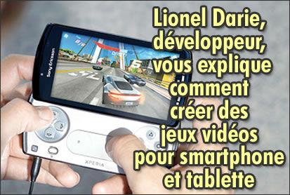 Lionel Darie vous explique comment créer des jeux vidéos.