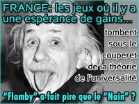 Jeux: La France devrait adopter la théorie de l\'universalité.