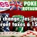 Poker en ligne au Royaume-Uni: les joueurs seront taxés à 15%.