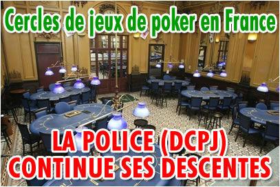 Cercles de jeux de poker en France: gros coup de balai.
