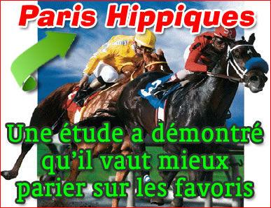 Paris hippiques : une étude a démontré qu'il faut parier sur les favoris.