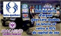 Loto-Québec se retire du groupe Joa, N°3 des casinos Français.