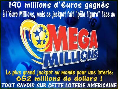 Nc jackpot de la loterie gagnants