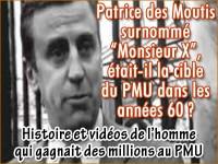 Patrice des Moutis, l\'homme qui gagnait trop de millions au PMU.