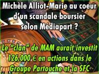 Michèle Alliot-Marie et les Casinos Partouche: un scandale en vue ?