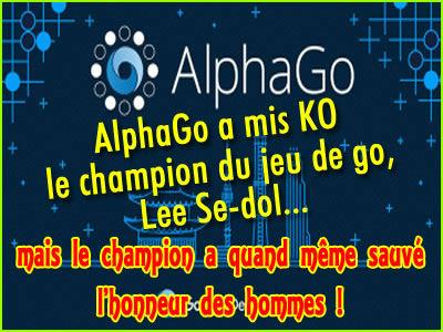 AlphaGo a battu le champion du jeu de go Lee Sedol.