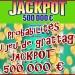 Jeu grattage Jackpot 500 000 €, les probabilités de gagner.