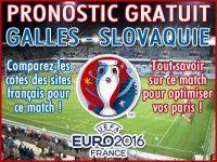 Pronostic Pays de Galles Slovaquie Euro 2016 - Foot