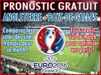 Pronostic Angleterre Pays de Galles Euro 2016 - Foot