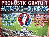 Pronostic Autriche Hongrie Euro 2016 - Foot