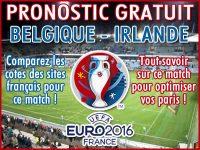 Pronostic Belgique Irlande Euro 2016 - Foot