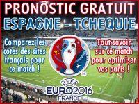 Pronostic Espagne Tchèque Euro 2016 - Foot