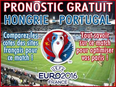 Pronostic Hongrie Portugal Euro 2016 - Foot