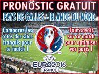 Pronostic Pays de Galles Irlande du Nord Euro 2016 - Foot