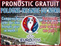 Pronostic Pologne Irlande du Nord Euro 2016 - Foot