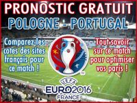 Pronostic Pologne Portugal Euro 2016 - Foot