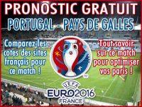 Pronostic Portugal Pays de Galles Euro 2016 - Foot