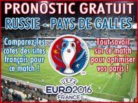 Pronostic Russie Pays de Galles Euro 2016 - Foot